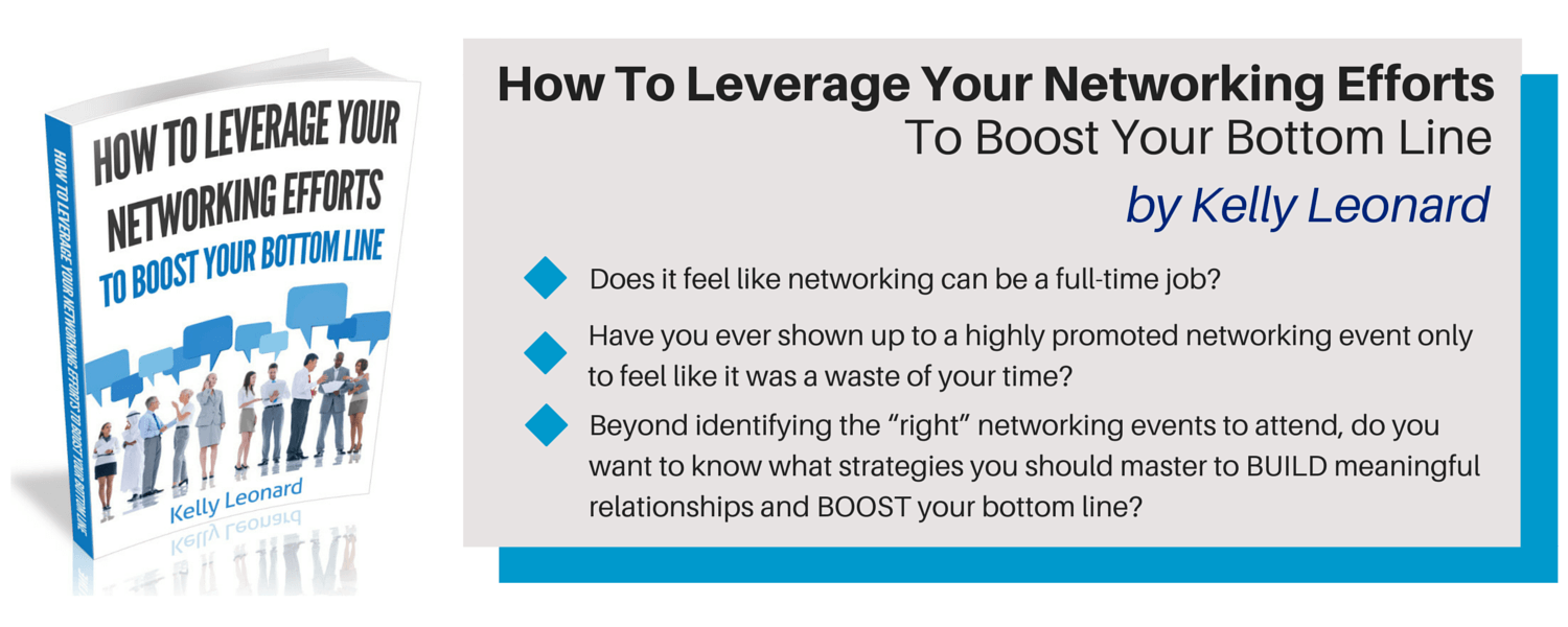 ebook leverage your networking efforts to boost your bottom line ebook
